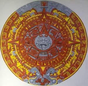 Aztec calender - sun stone