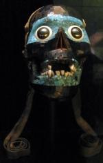 Aztec skull mask - British Museum