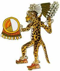 Jaguar Aztec warrior