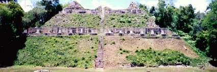 The Mayan Caana complex at Caracol