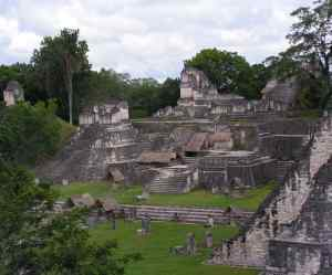 The Mayan city of Tikal