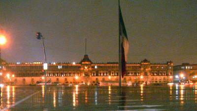 Mexico City historic square