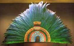 Moctezuma's headdress