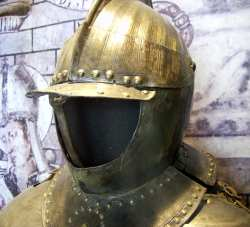 Armour of a Spanish soldier
