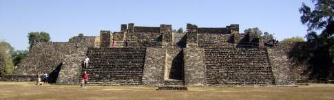 The great pyramid of Teopanzolco