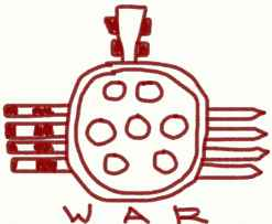 Aztec symbol of war