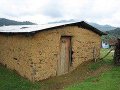 Modern day adobe shelter